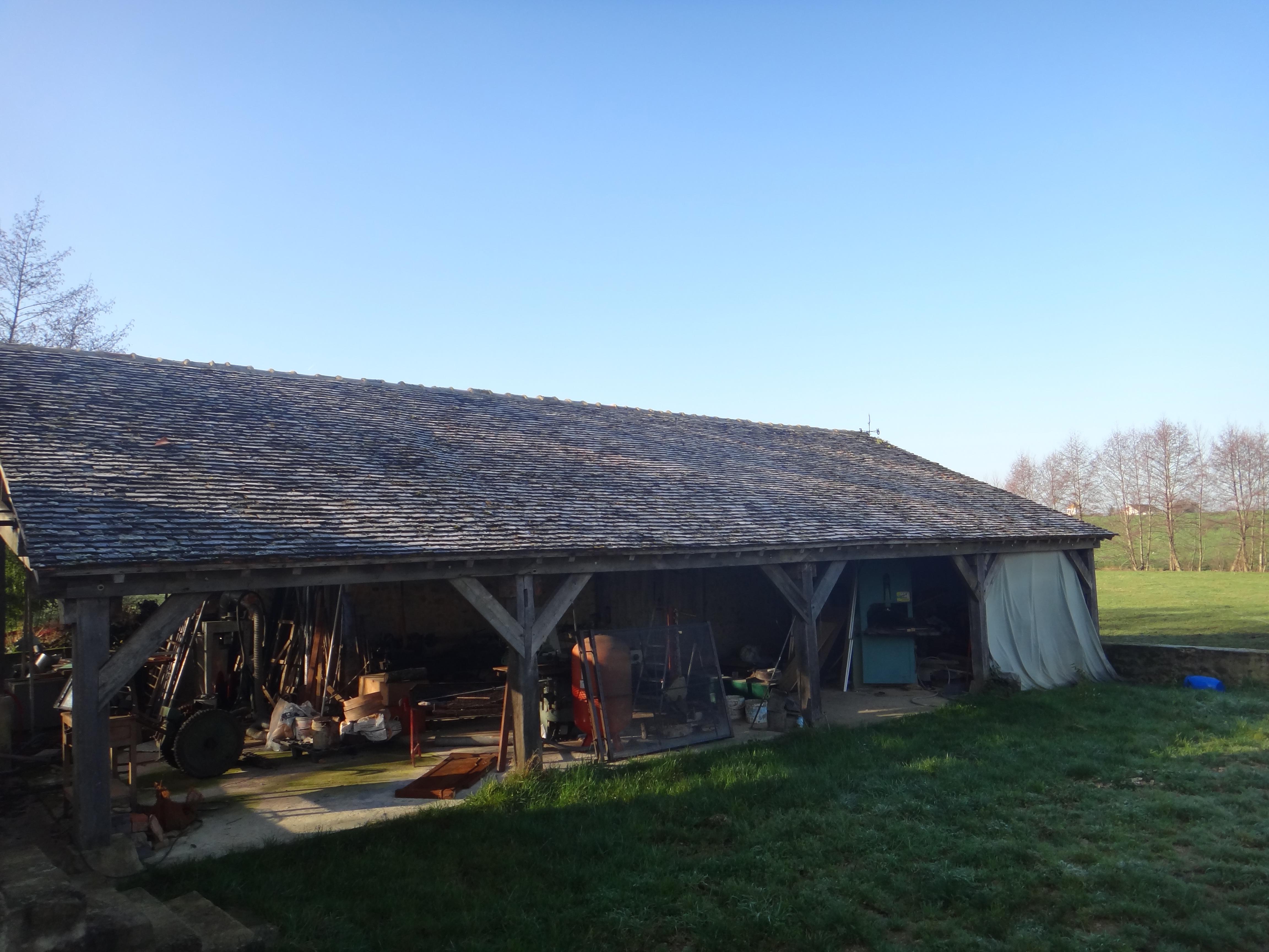 Le hangar une fois rénové
