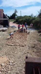 voie romaine moulin de l'orière