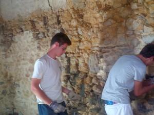 refection des joints murs
