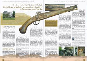Article paru dans le magazine Moulins de France en juillet 2012